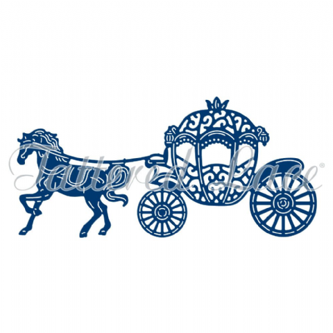 Tattered Lace Dies - Cherished Carriage TLD0046 - By Stephanie Weightman